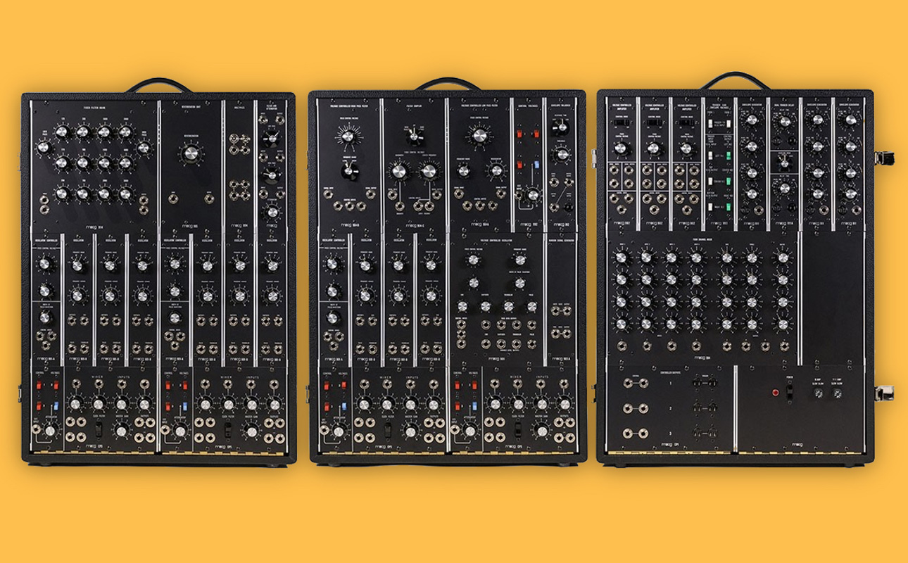 Moog To Reissue Modular Synthesizer Worth $35,000